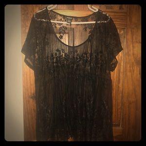 Torrid lace shirt